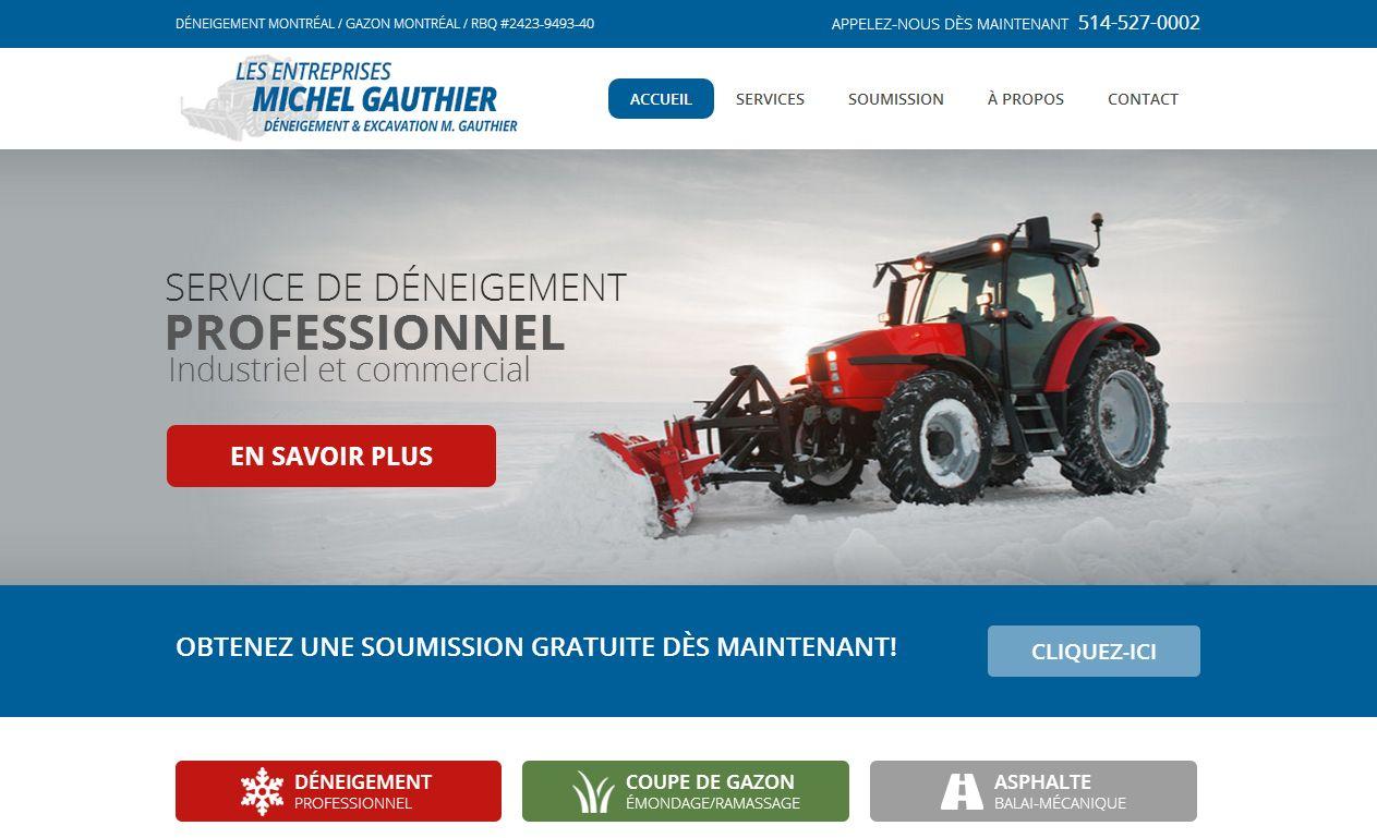 Deneigement & Excavation M Gauthier Inc